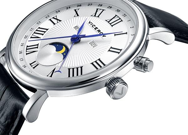 Comprar Barato Reloj Hombre Viceroy Caja Acero Correa Piel