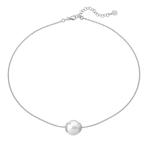 a22c10452f7e Colgante perla Majórica plata 1ª ley con cadena. - PRECIOS BARATOS ...