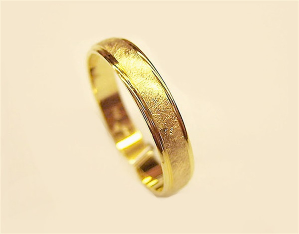 82ab399bc3ff Comprar Alianzas de boda especiales en oro mate especial baratas ...