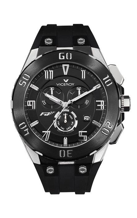 Comprar barato Reloj hombre Viceroy acero caucho. Colección Fernando ... b2169ec750a4