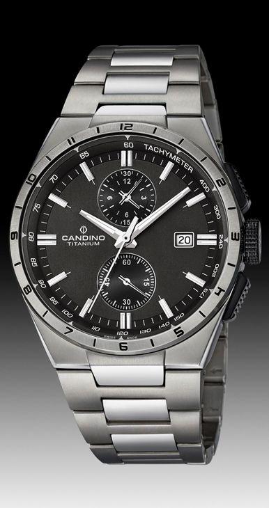 Comprar online barato Reloj Candino hombre swiss Titanio con ... 13789cadd4d