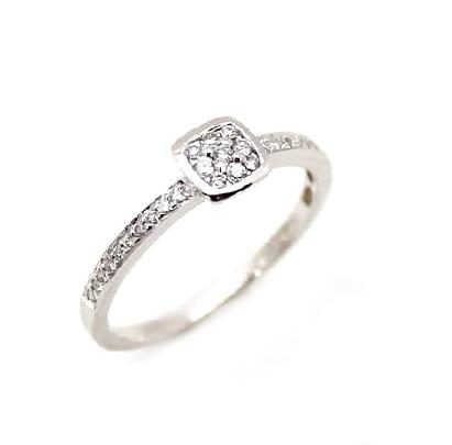b8a46c7fccaa Comprar online Anillo de compromiso oro blanco 18 k diamantes ...