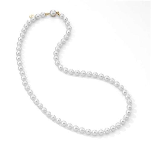be5335e52b1d Collar perlas Majorica blancas 8 mm. Largo  120 cm. - PRECIOS ...
