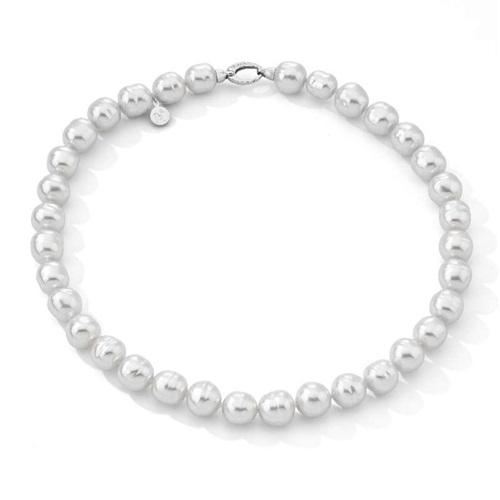 5f131e7e96e7 Collar perlas Majoricas barrocas blancas 12 mm. - PRECIOS BARATOS ...