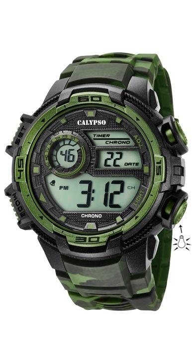 362e3069f69a Comprar barato Reloj Calypso hombre digital silicona sport. K5723 2 ...