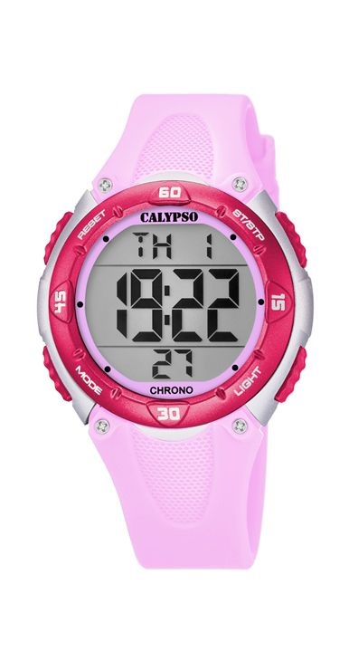 f7af3373d9aa Comprar barato Reloj Calypso mujer niña digital silicona rosa. K5741 ...