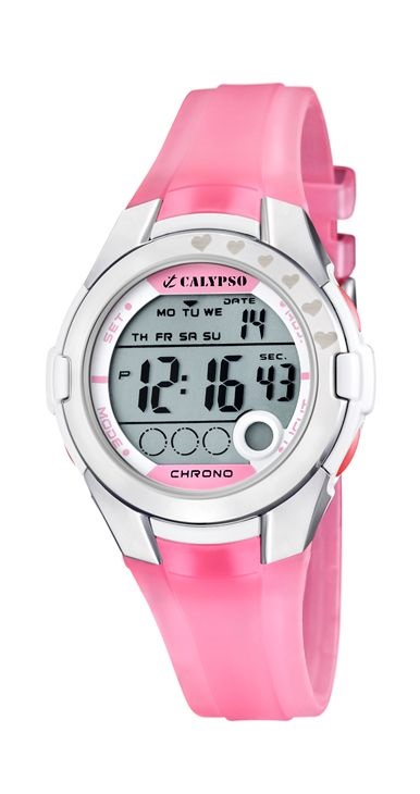 0685b5ddf90a Comprar barato Reloj Calypso mujer niña digital silicona rosa. K5571 ...