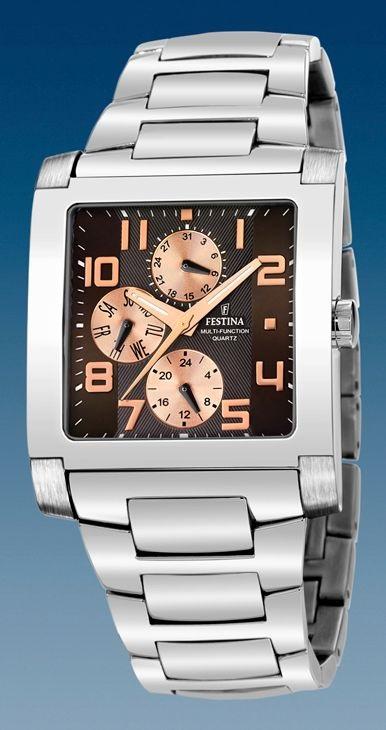 Comprar Online Reloj Festina Acero Caballero Multifunci 243 N