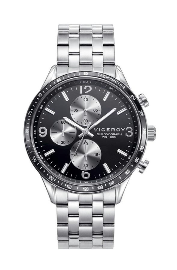8da0c7c40bdc Comprar barato Reloj hombre Viceroy acero cronómetro. Ref. 401141-55 ...