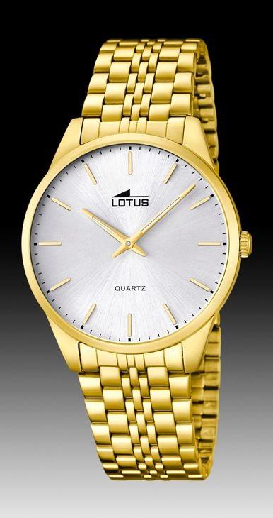 be188f82d685 Comprar barato Reloj Lotus hombre acero chapado oro classic. 15885 2 ...