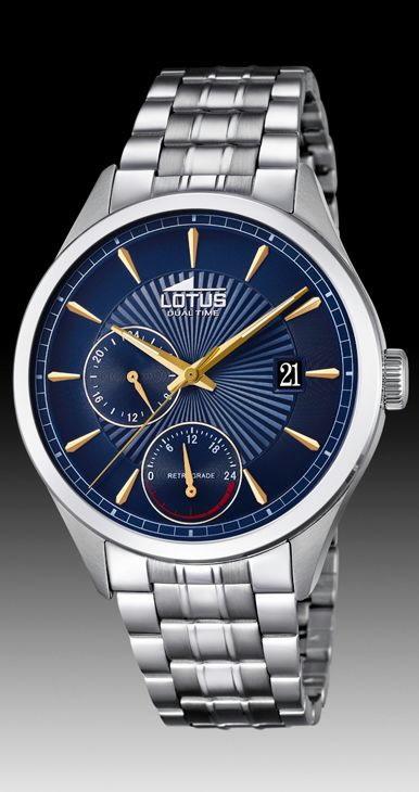 8f14ae227032 Comprar barato Reloj Lotus hombre acero multifunción 18213 9 ...