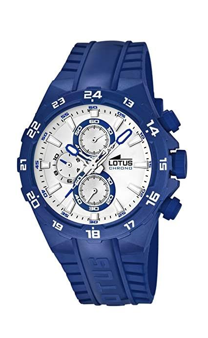 6f349af17d99 Comprar barato Reloj Lotus hombre caja PU sport con cronómetro ...