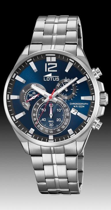 f5cbead15582 Comprar barato Reloj Lotus hombre cronómetro acero. 10136 3 - Envios ...