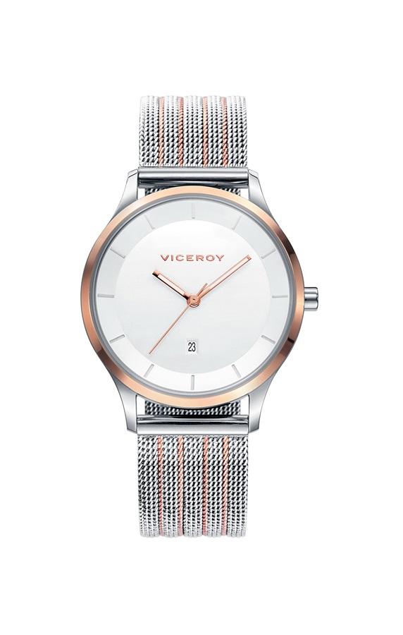 ee775541035f Comprar online y barato Reloj mujer Viceroy acero malla Milanesa ...