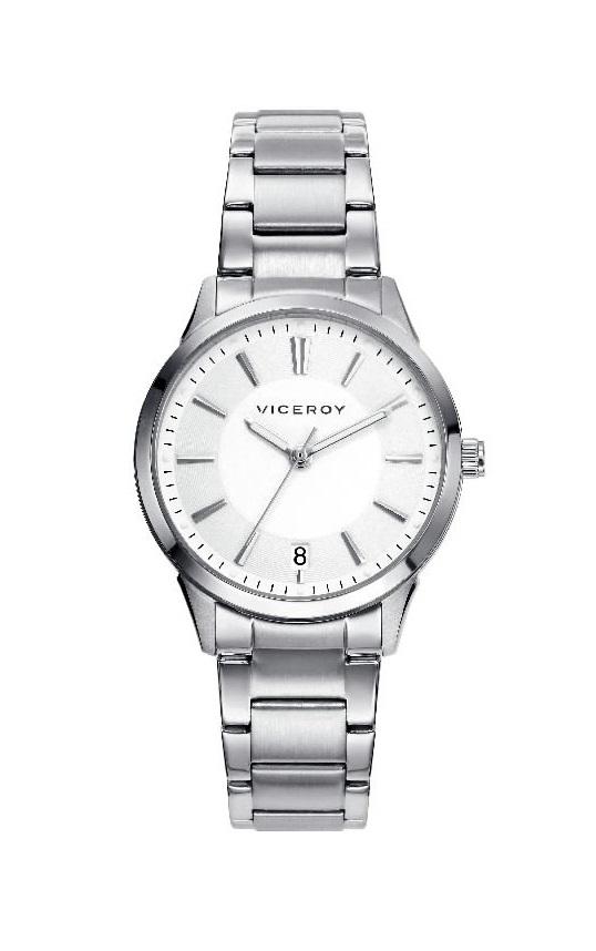 5c819731a78e Reloj Viceroy mujer acero 3 agujas.